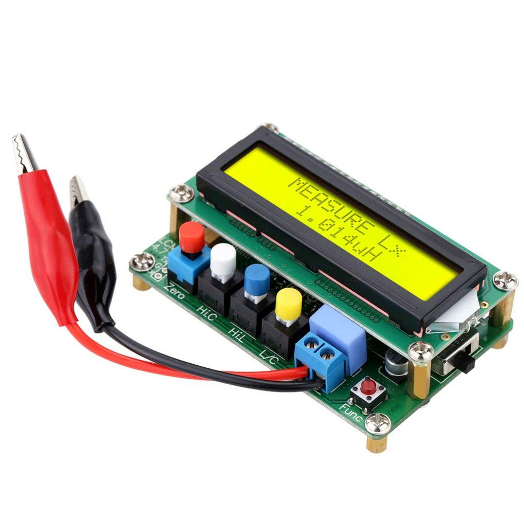 LC100-A Digital LCD Hohe Prä zision Induktivitä t Kapazitä t L / C Meter Kondensator Test Mini Usb-schnittstelle Chunyang