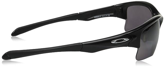 fb91fd60bf Amazon.com  Oakley Men s Quarter Jacket Polarized Iridium Rectangular  Sunglasses