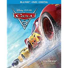 Disney-Pixar's CARS 3 arrives Digitally in HD and 4K Oct. 24 and on 4K Ultra HD and Blu-ray Nov. 7