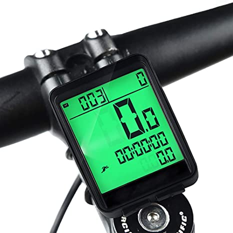 HITECHLIFE Cuentakilómetros para Bicicleta, Impermeable ...