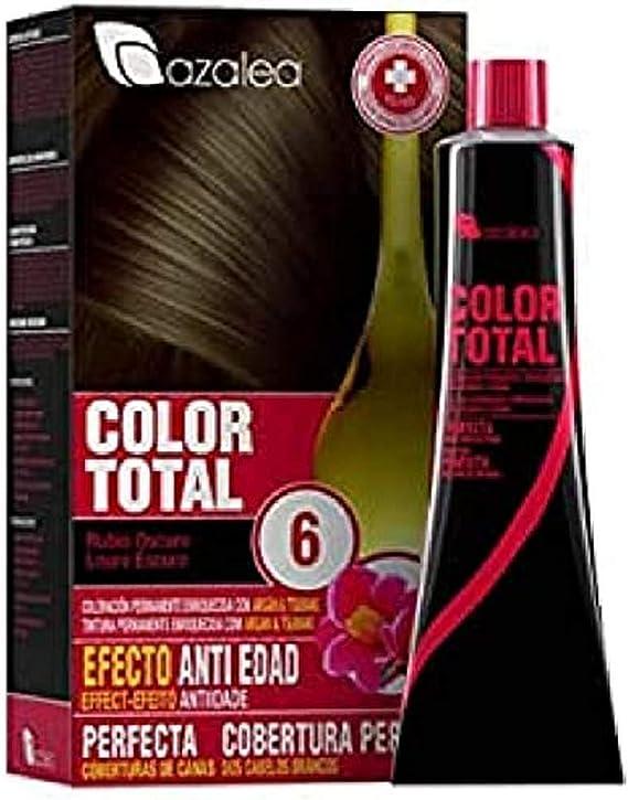 Azalea Total Tinte Capilar Permanente, Color Rubio Oscuro - 224 gr