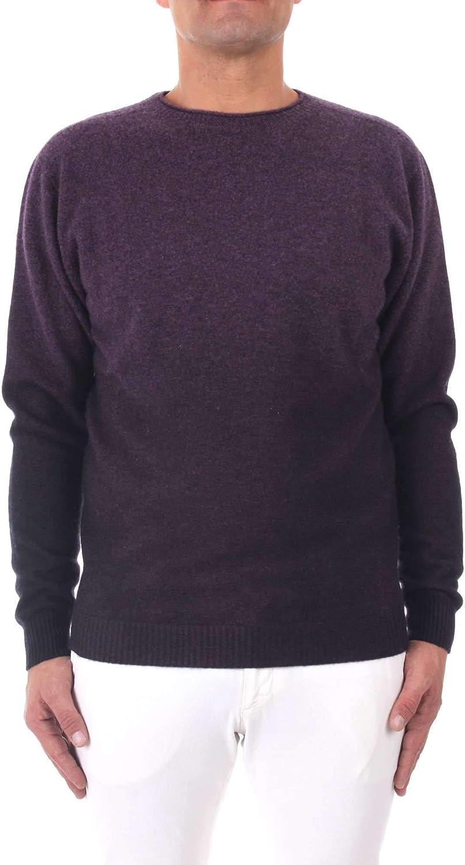 ZANNI Men's Wg17678purple Purple Cashmere Sweater: Amazon.ca