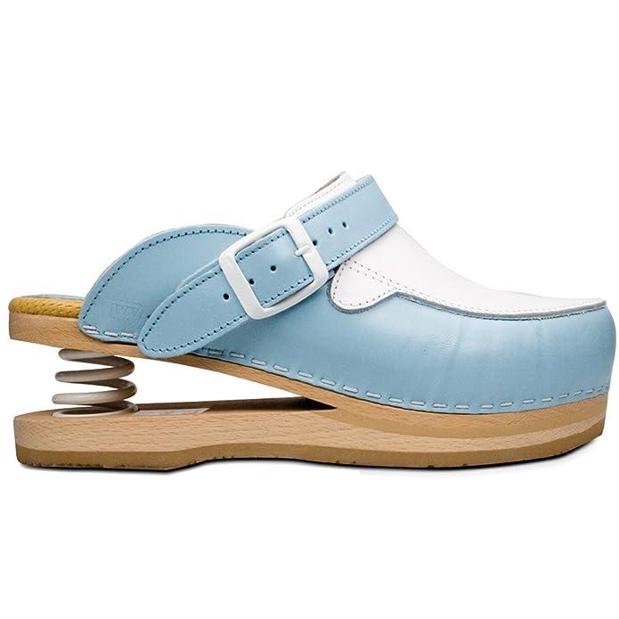 nuovi stili dettagli per scarpe esclusive Tecniwork Zoccoli Relax Chiusi con Molla 41 Turchese: Amazon.it ...