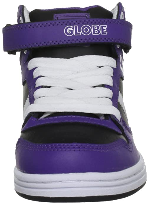 Globe Superfly Leather - zapatillas de skateboard de cuero unisex, color, talla 2 UK