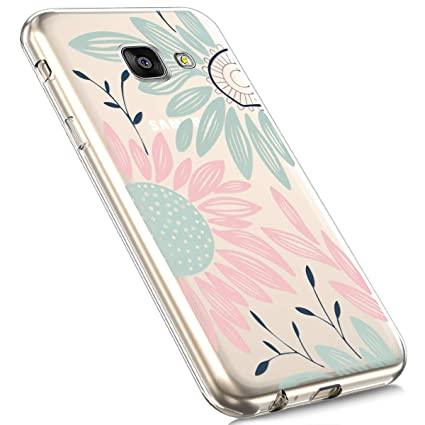 MoreChioce kompatibel mit Galaxy A3 2016 Hülle,kompatibel mit Samsung Galaxy A3 2016 Hülle Silikon Transparent, Cute Cartoon