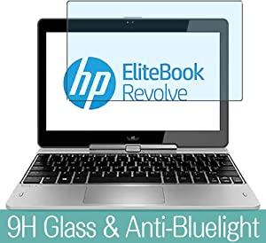 """Synvy Tempered Glass Screen Protector for HP EliteBook Revolve 810 G1 Tablet 11.6"""" Visible Area Protective Screen Film Protectors 9H Anti-Scratch Bubble Free"""