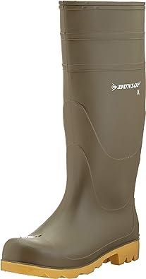 TALLA 43 EU. Dunlop - Botas de agua estilo Wellington de PVC modelo Universal para hombre