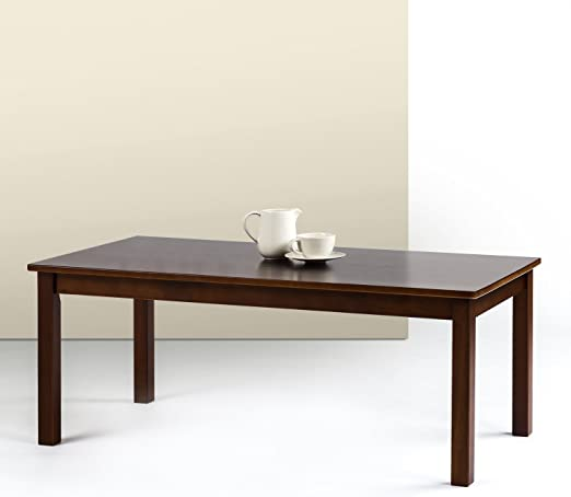 Zinus Jamie Espresso Wood Coffee Tabl