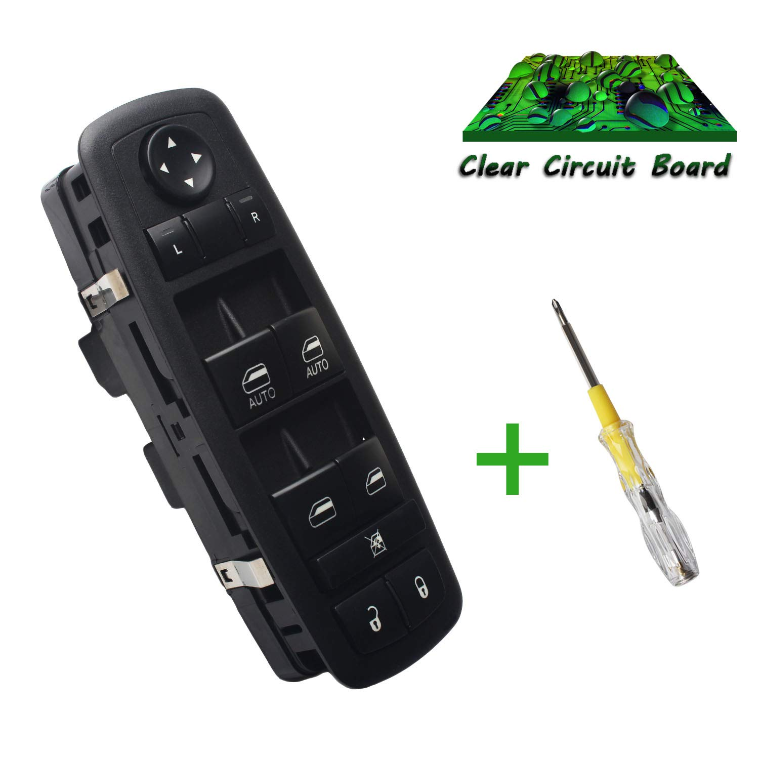 amazon com beneges master power window switch compatible with 2012beneges master power window switch compatible with 2012 2015 chrysler town \u0026 country, 2012 2017 dodge grand caravan, 2013 2015 dodge ram 1500 2500 3500 4500