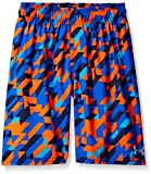 Under Armour Big Boys' Printed Volley Swim Shorts, Ultra Blue, XL