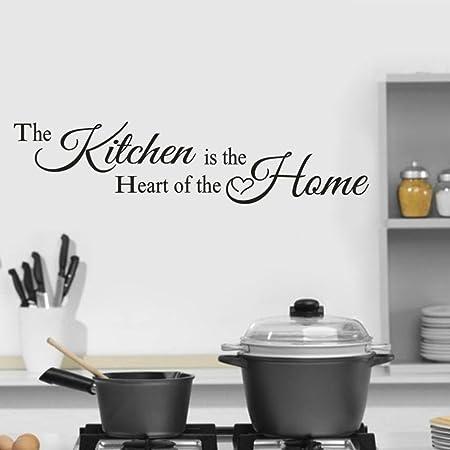 Malloom Vinyl Wall Stickers Removable Kitchen Design With Kitchen