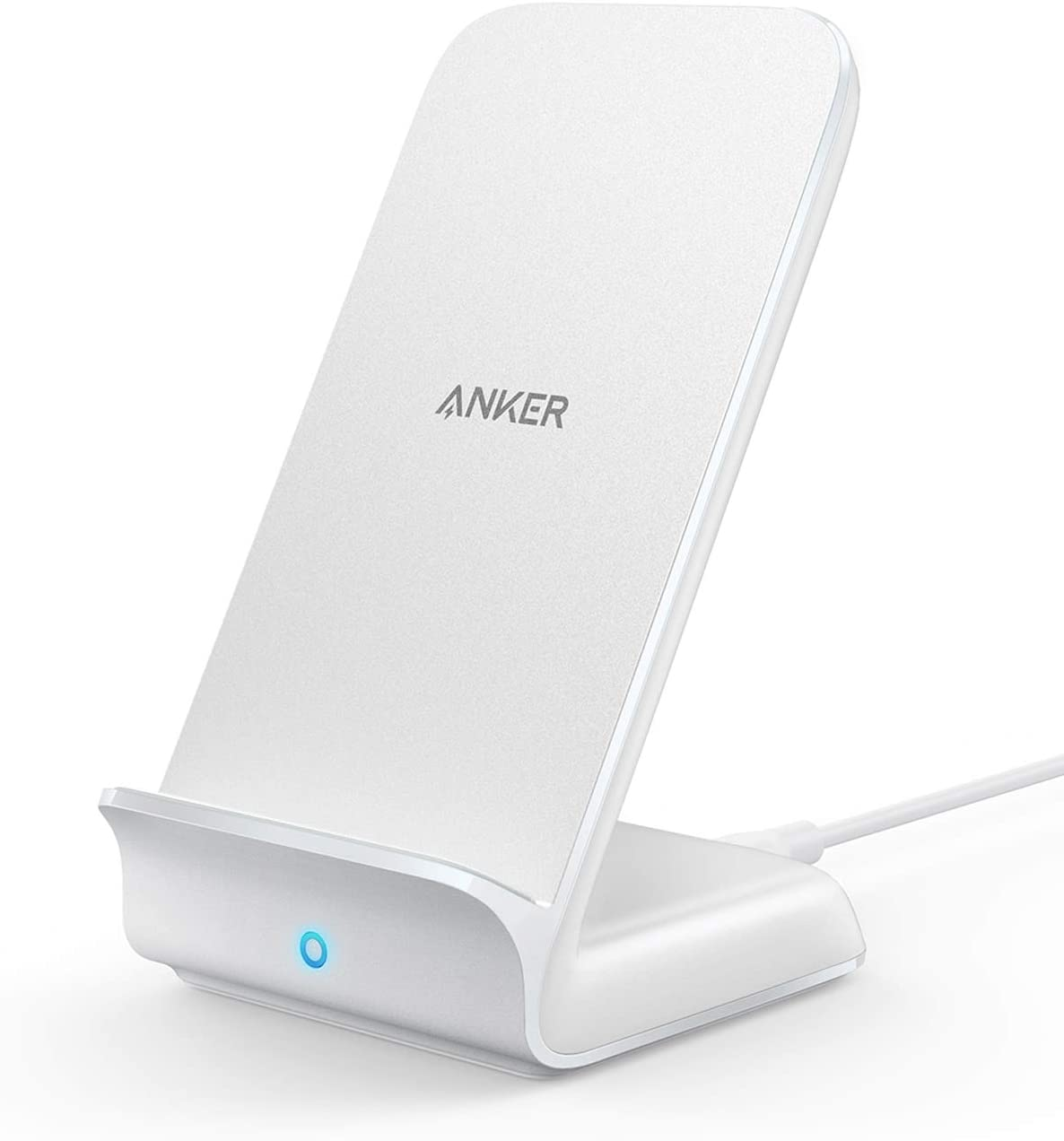 Amazon.com: Anker Wireless Charger, PowerWave 7.5 Stand, Qi-Certified, Fast  Charging iPhone 11, 11 Pro, 11 Pro Max, XR, Xs Max, Xs, X, 8, 8 Plus,  Galaxy S 20 S10 S9 S8, Note