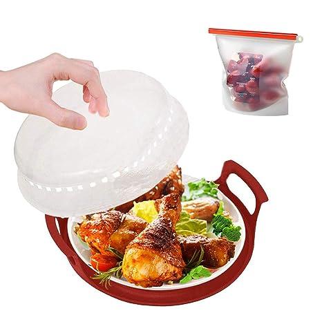 Juego de funda para microondas, bandeja para platos y bolsa de ...