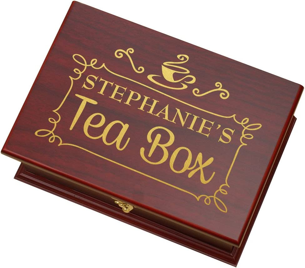 Jewellery Box,Tea caddy,Tea chest,Painted box,Unique box,Table box,Jewellery Gift Box,gift for mom,Tea storage,Box glass,Bow bridge