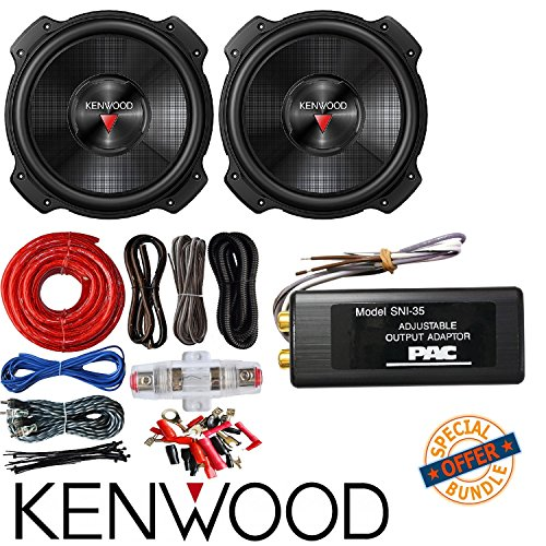 2X Kenwood KFC-W3016PS 2000 Watt 12