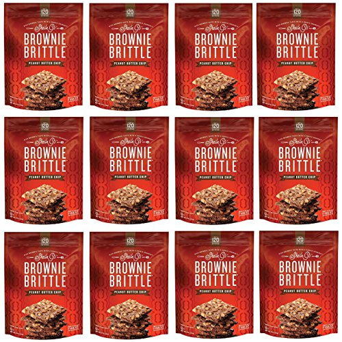 Brownie Brittle, 5 Ounce, Peanut Butter Chip (120