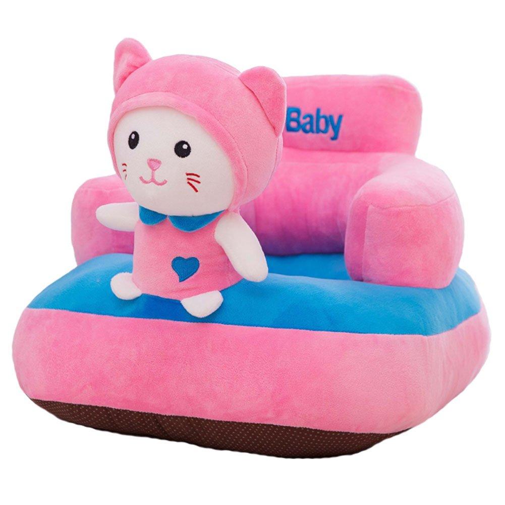 IIWOJ Seggiolone per Bambini Piccolo Divano in Peluche Cat Cushion Fashion Gift (1-6 Anni)
