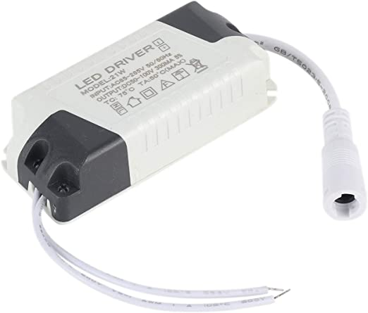 Dimmable LED Light Lamp Driver Transformer Power Supply 6//9//12//15//18//21W SL U
