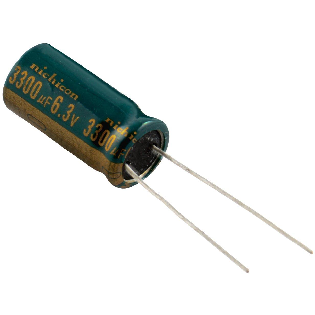 Nichicon 4700uF 6.3V 105C Radial Electrolytic Capacitor 9mm x 25mm