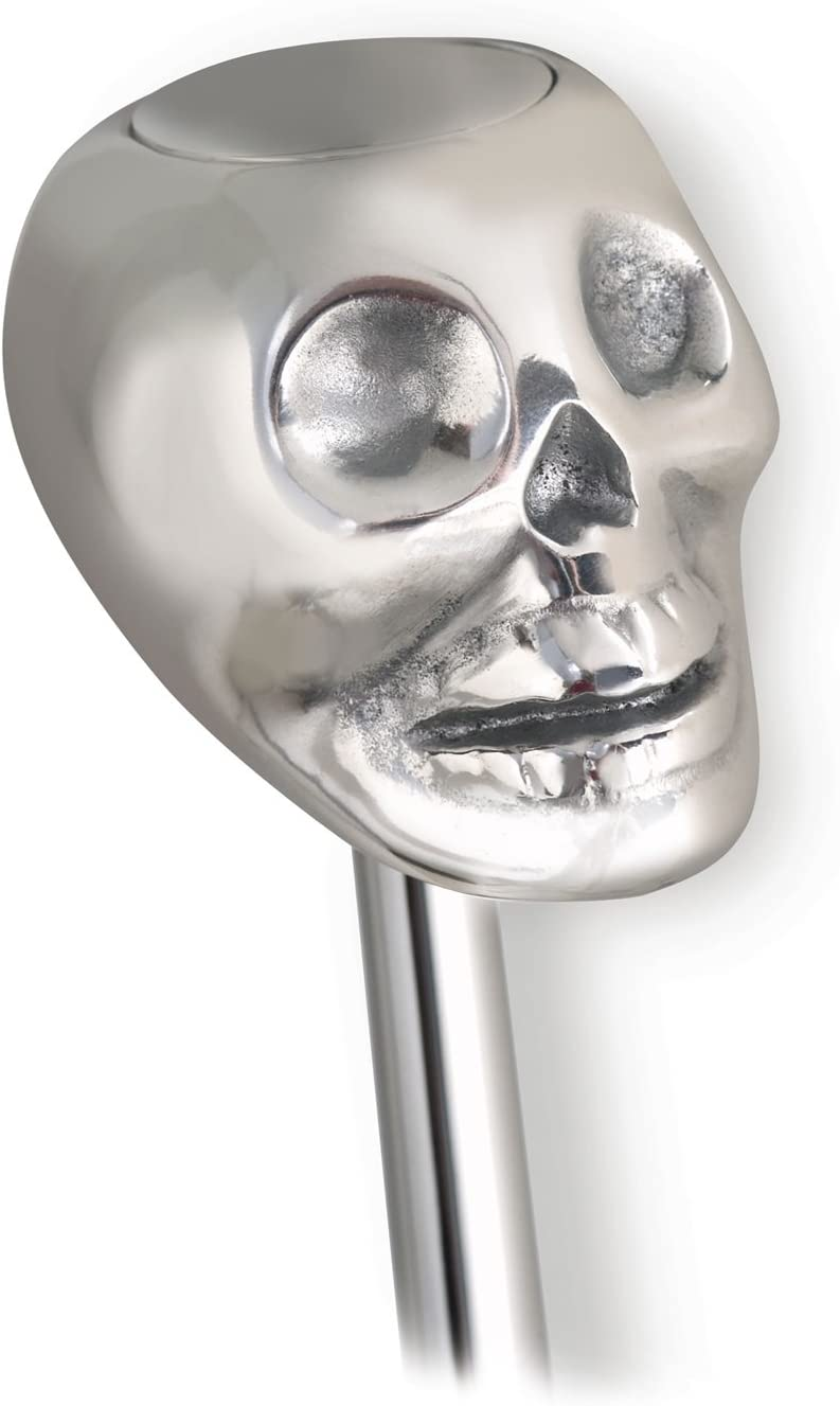 Lokar ATS64L60AS 23 Automatic Transmission Shifter with Skull Knob for 4L60 Transmission