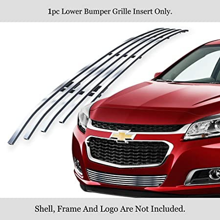 APS Compatible with 2013 Chevy Malibu Lower Bumper Billet Grille Grill Insert C65944A