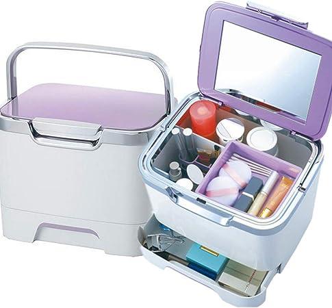 JIANGU Kit de Medicina portátil Botiquín de Primeros Auxilios - Caja de Joyas de Almacenamiento de cosméticos portátil: Amazon.es: Hogar