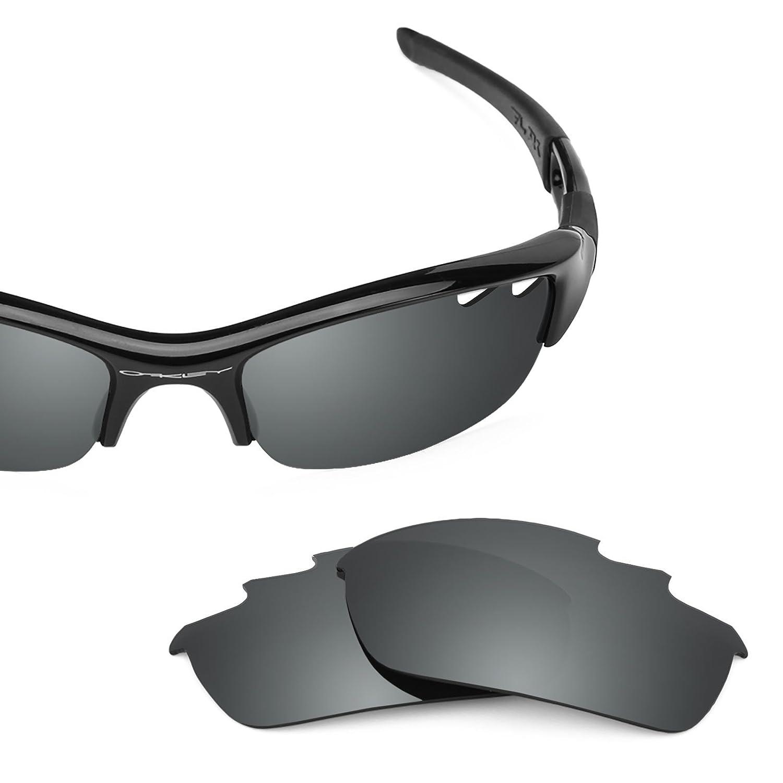 4e50c33b81f Revant Polarized Replacement Lenses for Oakley Flak Jacket Vented Elite Black  Chrome MirrorShield®  Amazon.co.uk  Clothing