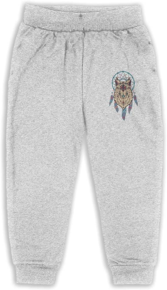 Wolf Pack 2-6T Boys Active Joggers Soft Sweatpants