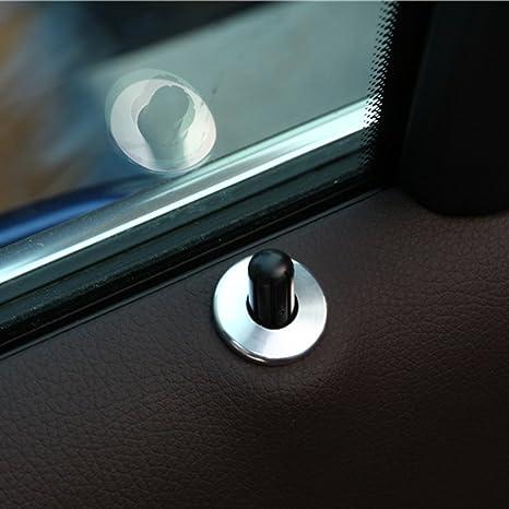 4pcs/set Car ABS cromado accesorios cerradura de la puerta de coche Car Styling Interior