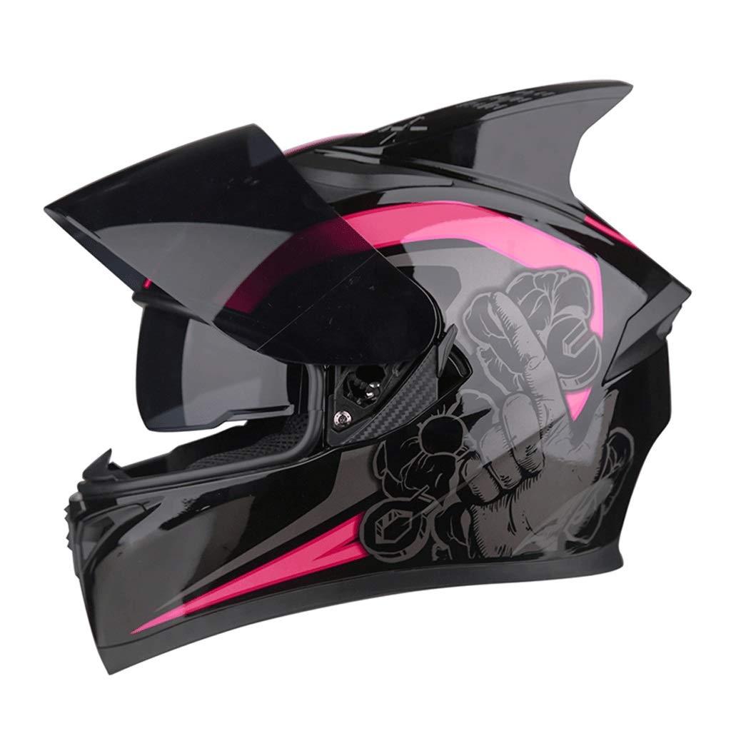 【激安セール】 ダブルレンズヘルメットモトクロスフルフェイスヘルメット取り外し可能な裏地付きマウンテンバイク乗馬用ヘルメット B07PJ9ZJ51 (色 : J j, サイズ X-Large さいず : XXXL) : B07PJ9ZJ51 X-Large D D X-Large, 天然まぐろの焼津屋:a2efade0 --- a0267596.xsph.ru