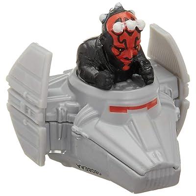 Hot Wheels Star Wars Starship Darth Maul & Sith Infiltrator Vehicle: Toys & Games