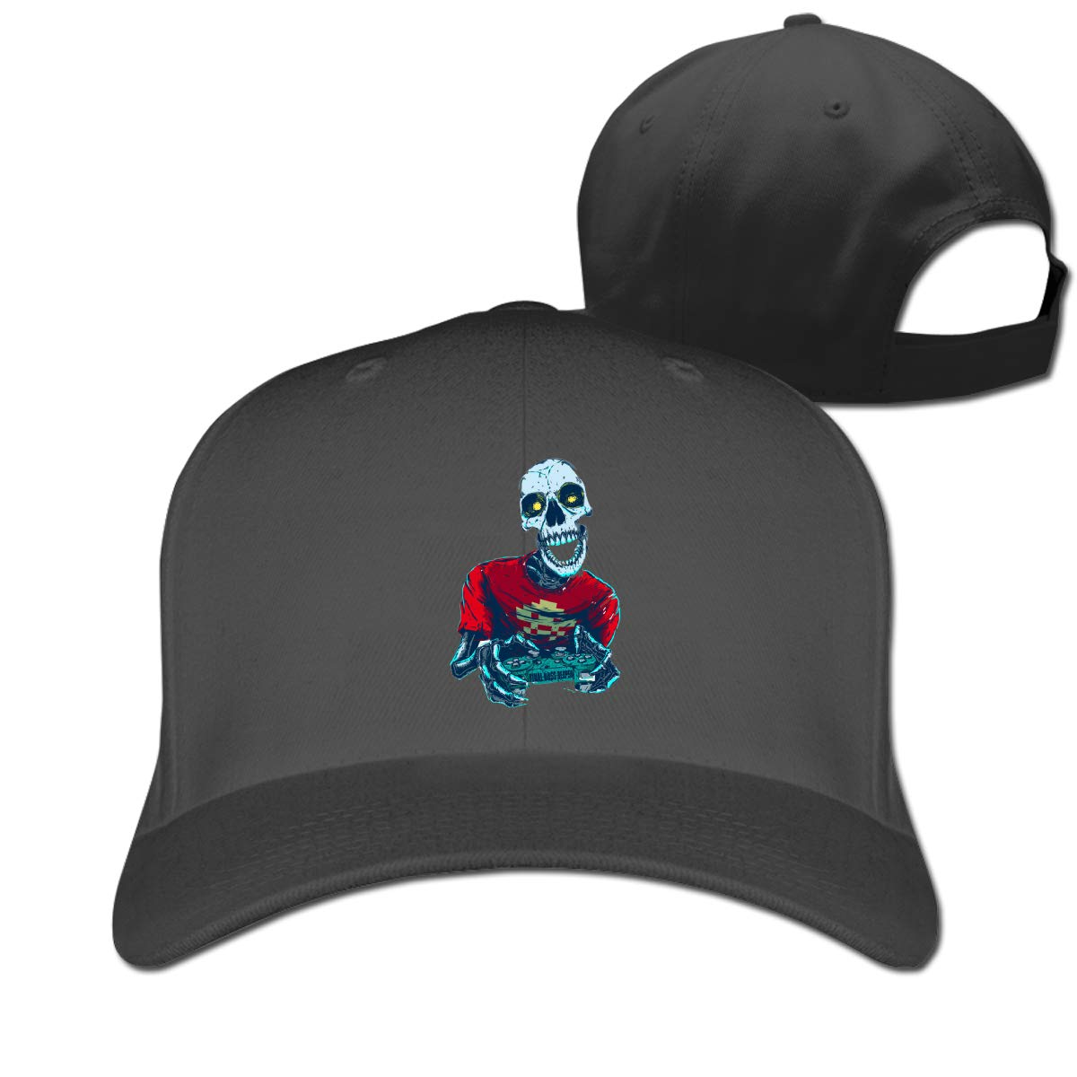 Funny Skull Game Classic Adjustable Cotton Baseball Caps Trucker Driver Hat Outdoor Cap Fitted Hats Dad Hat Black