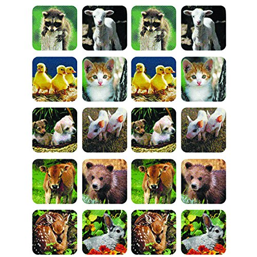 EUREKA BABY ANIMALS REAL PHOTOS THEME (Set of 36)