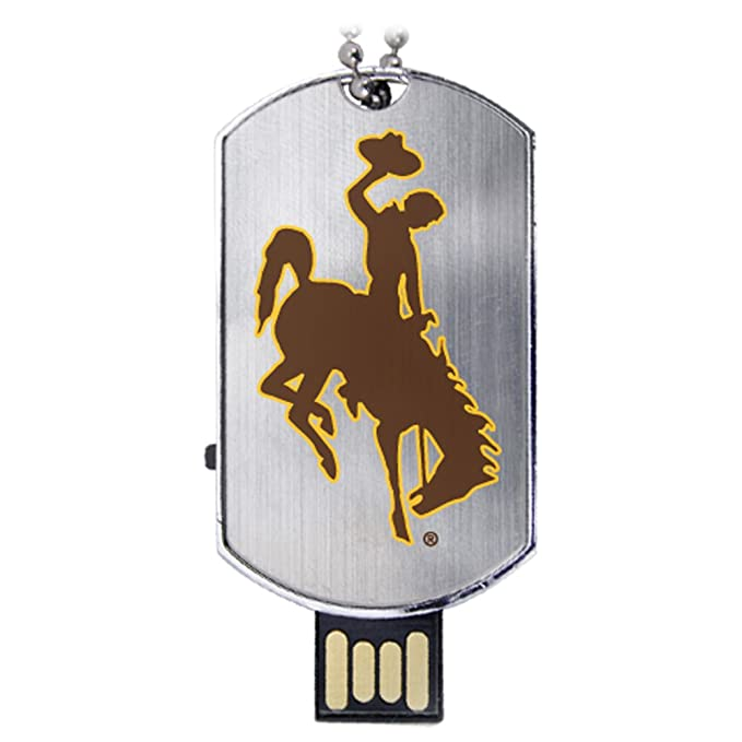 Universidad de Wyoming Cowboys etiqueta de flash usb drive 8 gb: Amazon.es: Deportes y aire libre