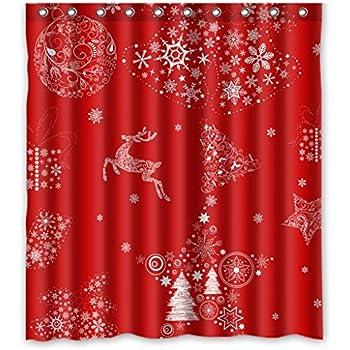 Christmas Curtain Fabric