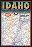 Benchmark Idaho Road and Recreation Atlas, Other Publisher Street Atlas Staff, 0929591828