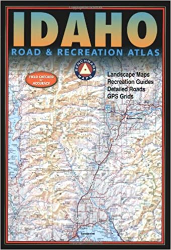 Benchmark Idaho Road & Recreation Atlas: Benchmark Maps ... on idaho site seeing, idaho real estate, idaho roads and highways, idaho fires 2013, idaho school districts, idaho fishing report, boise idaho accident report, idaho weather forecast,