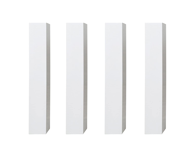 あずま工芸 ダイニングテーブル BIANCO(ビアンコ) ホワイト 脚のみ TDT-1311(2/2) B07B7R5V23