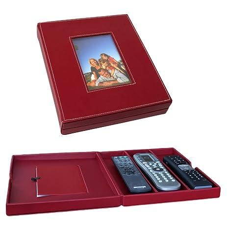 Elegant Decorative Remote Control Storage Box 10.75u0026quot; By 9u0026quot; By 2u0026quot; ...