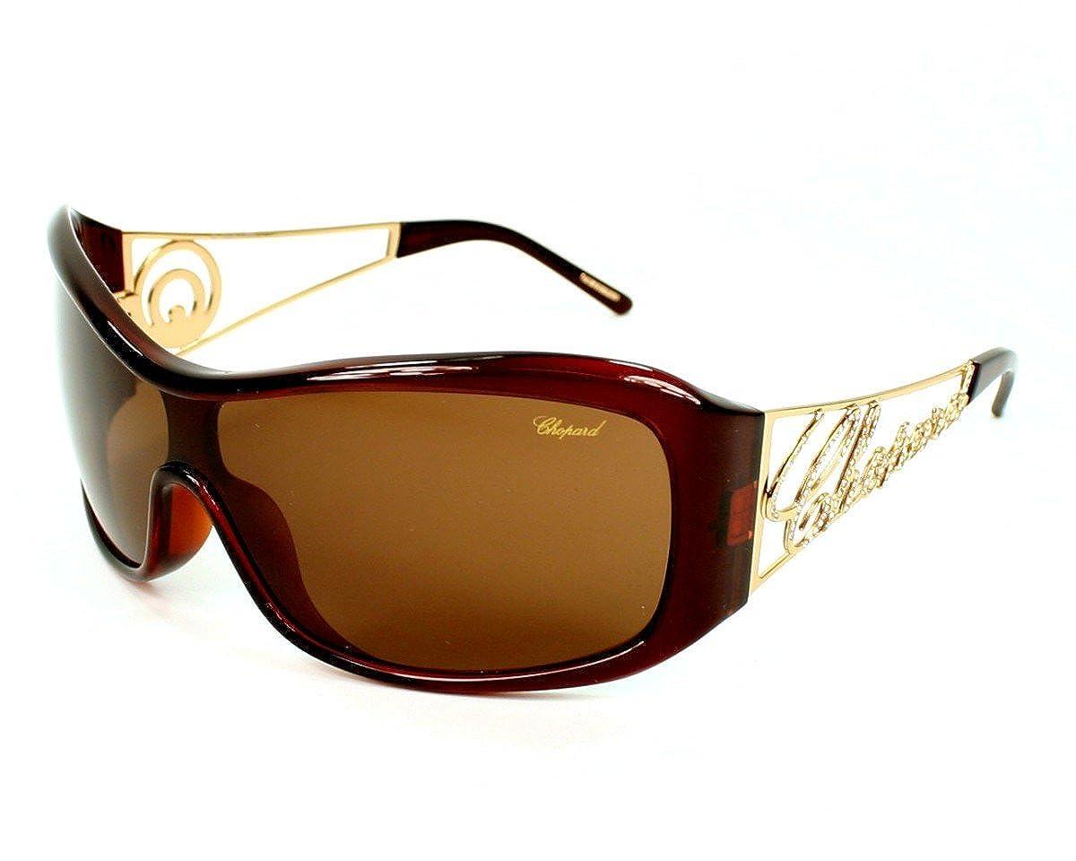 60b160733cd60 Amazon.com: Chopard SCH 029 958 Brown Plastic Sunglasses: Clothing