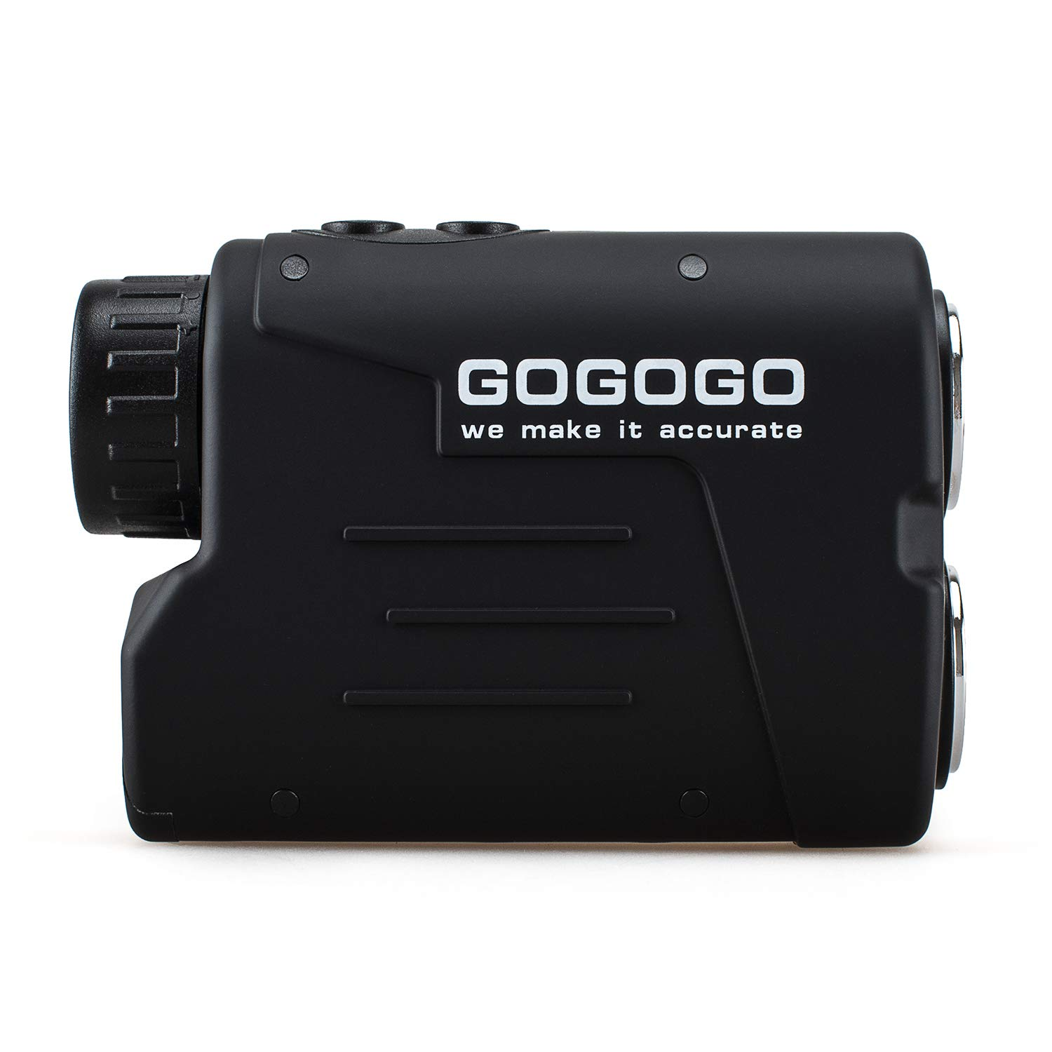 Gogogo Sport Laser Golf/Hunting Rangefinder, 6X Magnification 650/900 Yards Laser Range Finder, Accurate Range Scan, Slope Distance Correction, Pin-Seeker & Flag-Lock,Tournament Legal Golf Rangefinder by Gogogo Sport