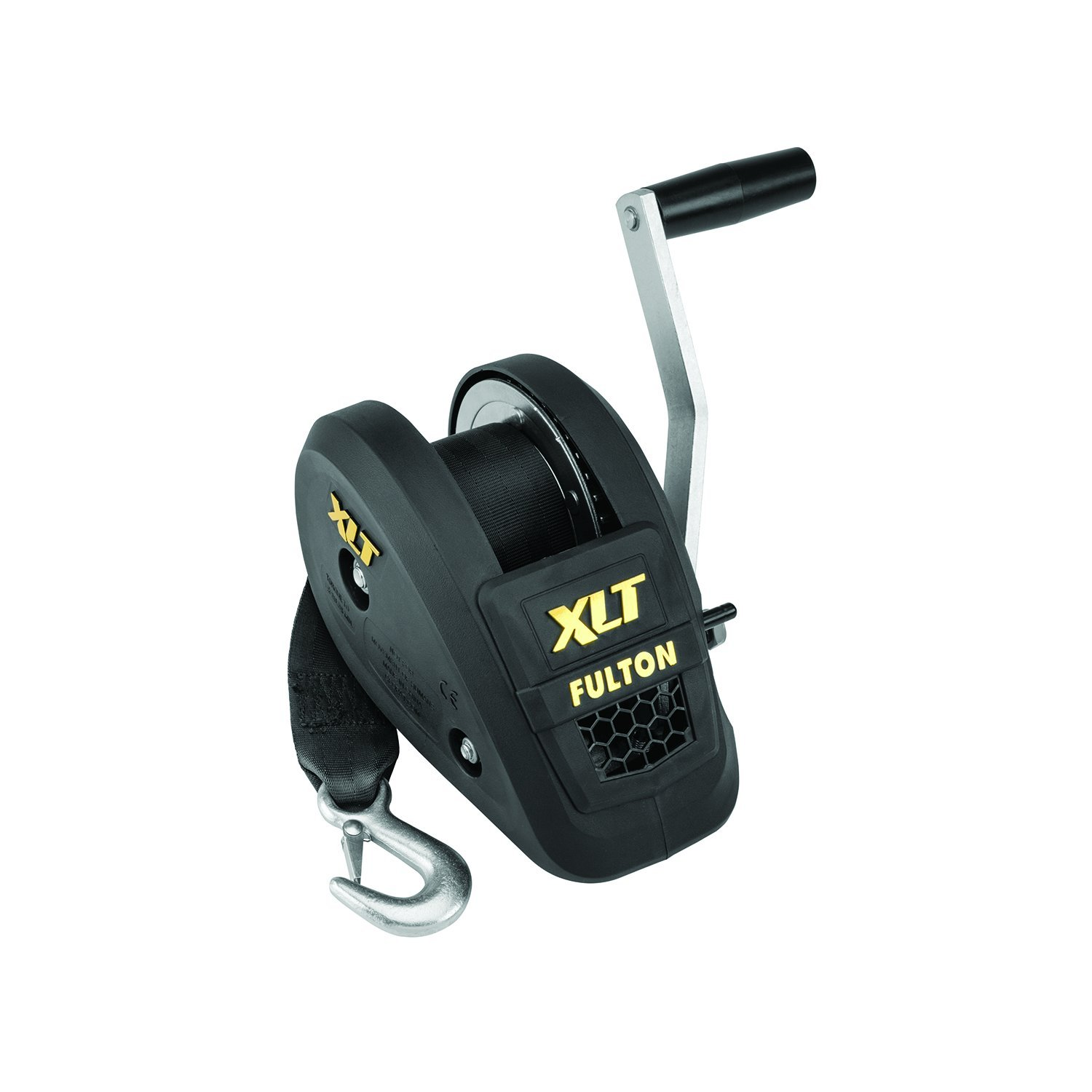 Fulton 142311 Single Speed Winch with 20' Strap and Cover - 1400 lbs. Capacity, 1 Pack