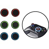 Thumb grips,【3 Pair Thumb Cover】Silicone Analog Thumb grip, Controller Covers for PS4, PS5, Xbox, Nintendo Switch Pro…