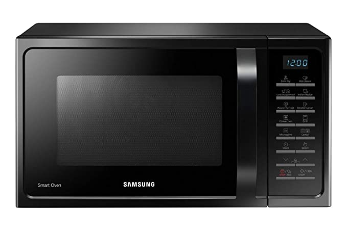 Samsung 28 L Convection Microwave Oven (MC28H5025VK, Black)