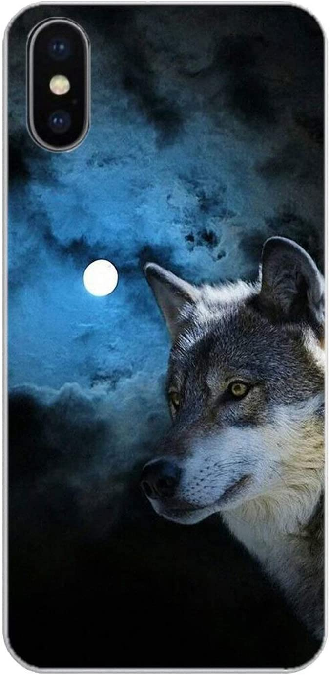 Coque Silicone Loup Lone Wolf Wisdom Poster pour Huawei Honor 8 8C ...