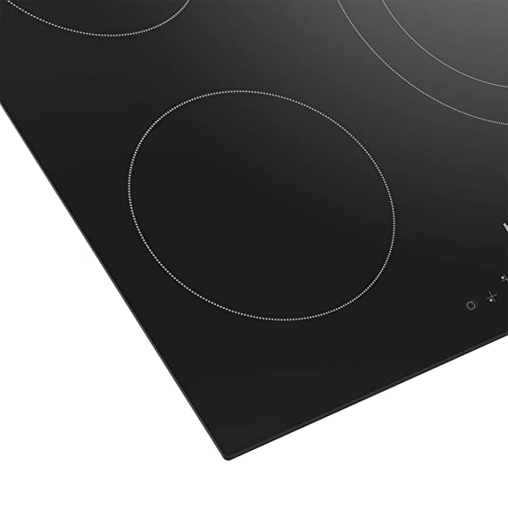 Beko HIC63401T - Placa Vitrocerámica Hic63401T Con 3 Zonas De Cocción