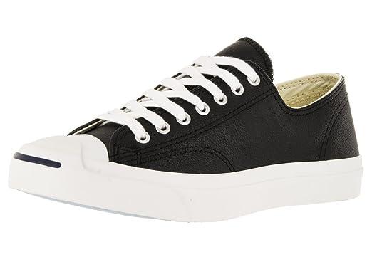 b39625f787df Converse Unisex Jack Purcell Lea OX Blk White Casual Shoe 6.5 Men US   8 Women  US  Amazon.co.uk  Shoes   Bags