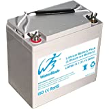 Lithium Battery For 12v Electric trolling motor ( Li Ion 11.1V 50Ah Includes 15A charger )
