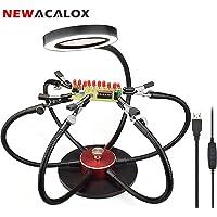 Manos de ayuda rotativas flexibles de 360 °