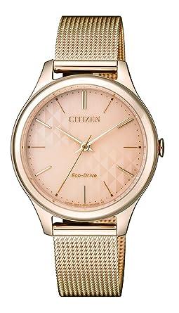 Citizen - Reloj analógico de Cuarzo con Revestimiento de Acero (Pulsera em0503 - 83 x: Amazon.es: Relojes